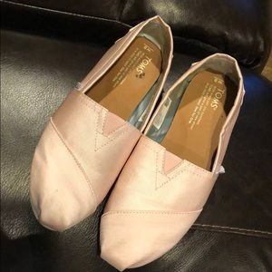 Toms Pink Grosgrain